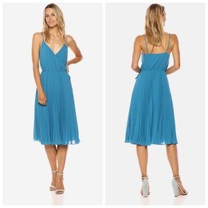 ALI & JAY Lily Pond Faux Wrap Dress